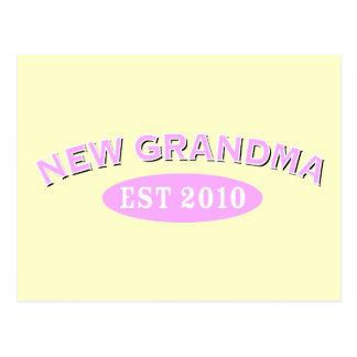 New Grandma 2010 Postcard