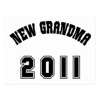 New Grandma 2011 Gift Postcard
