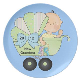 New Grandma 2012 Melamine Plate