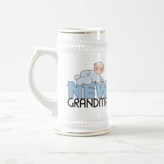 New Grandma Gifts Beer Stein