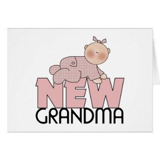 New Grandma Gifts Greeting Card