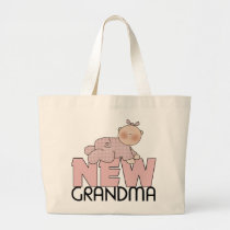 New Grandma Gifts Large Tote Bag