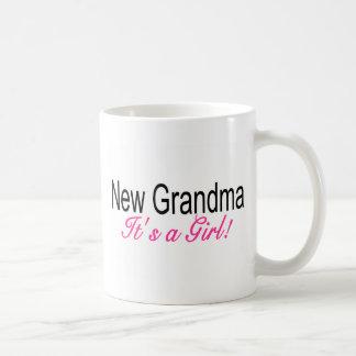 New Grandma Its A Girl Coffee Mug