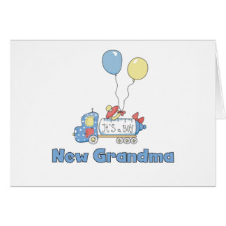 New Grandma of Boy Truck Tshirts and Gifts Cards