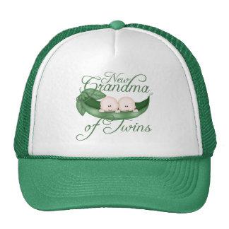 New Grandma Of Twins Trucker Hat