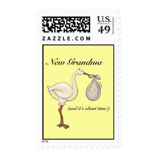 New Grandma Stamp