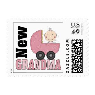 New Grandma Postage Stamp