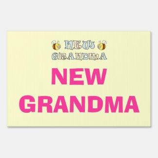 New Grandma Signs