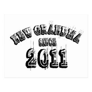 New Grandma Since 2011 Postcard