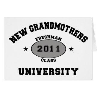 New Grandmother 2011 Card