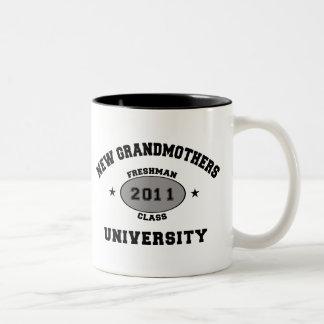 New Grandmother 2011 Two-Tone Coffee Mug
