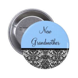 New Grandmother Pinback Button