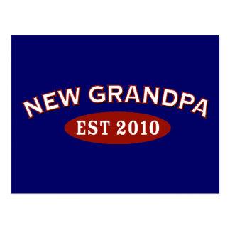 New Grandpa 2010 Postcard