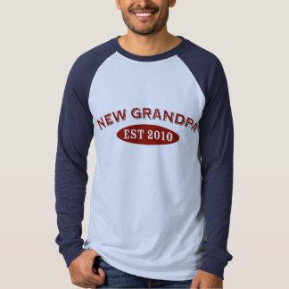 New Grandpa 2010 T Shirt