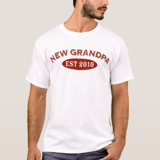 New Grandpa 2010 T-Shirt
