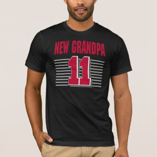 New Grandpa 2011 T-Shirt Gifts Cards