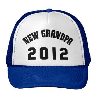 New Grandpa 2012 T-Shirts Gifts Cards Trucker Hat