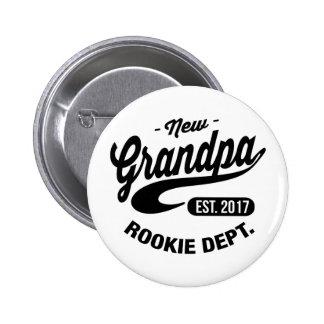 New Grandpa 2017 Button