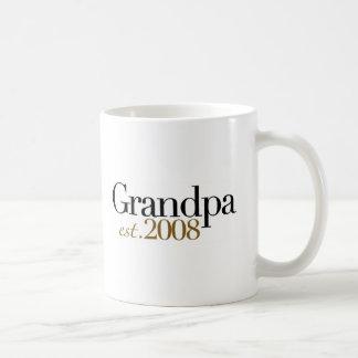 New Grandpa Est 2008 Coffee Mug