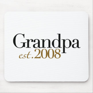 New Grandpa Est 2008 Mouse Pad