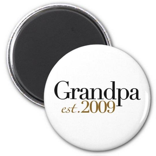 New Grandpa Est 2009 Magnet