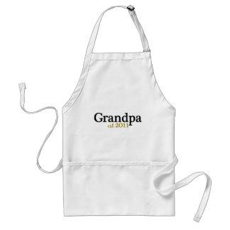 New Grandpa est 2011 Adult Apron