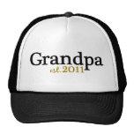 New Grandpa est 2011 Trucker Hat