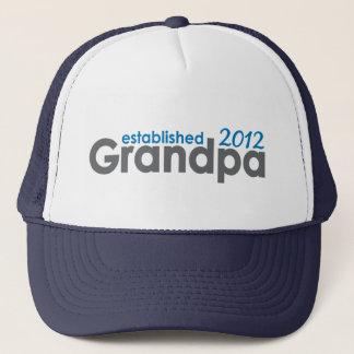 New Grandpa established 2012 Trucker Hat