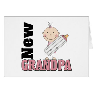 New Grandpa Gift Greeting Card