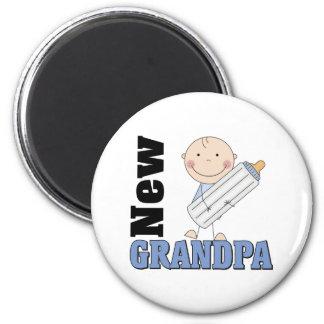 New Grandpa Gift Refrigerator Magnets