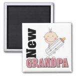 New Grandpa Gift Magnets