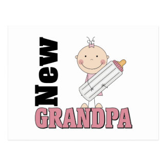 New Grandpa Gift Postcard