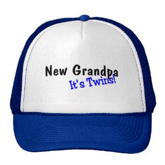 New Grandpa Its Twins Hats