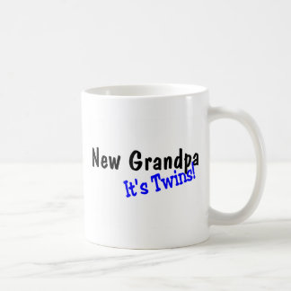 New Grandpa Of Twins Coffee Mug