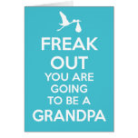 New Grandpa To Be Pregnancy Announcement Greeting Card