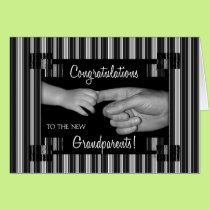 New Grandparents Congratulations Card