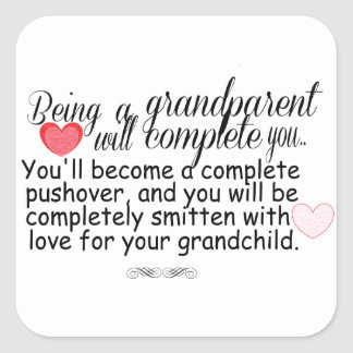 New Grandparents Square Sticker