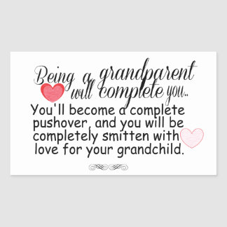 New Grandparents Rectangular Sticker