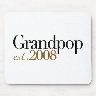New Grandpop Est 2008 Mouse Pad