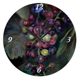 New Grapes Clock