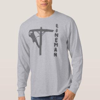 new gray lineman, LINEMAN T-Shirt