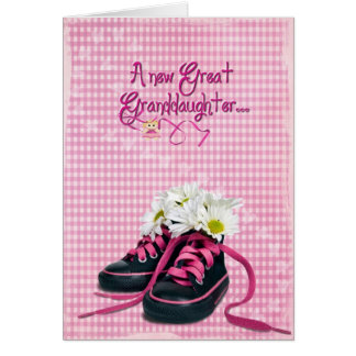 New Great-Granddaughter Greeting Card