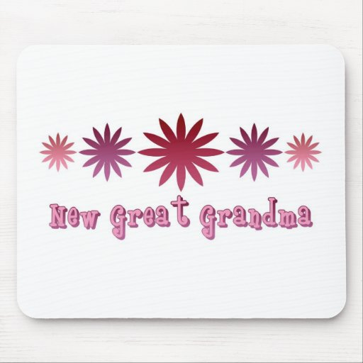 New Great Grandma Mouse Pads