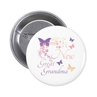 New Great Grandma Pinback Button