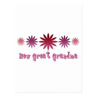 New Great Grandma Postcard