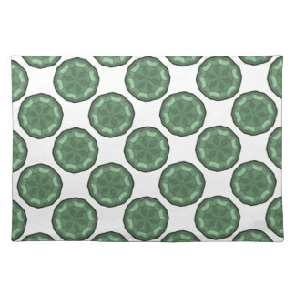 New Green & White Designer Placemat Gift
