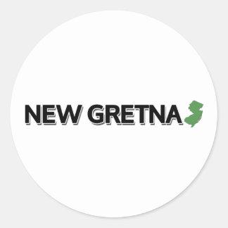 New Gretna, New Jersey Classic Round Sticker