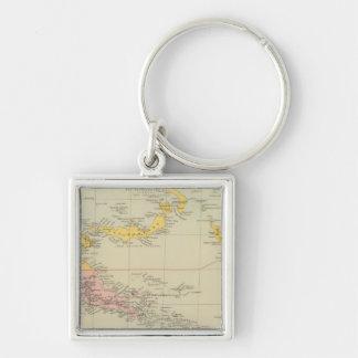 New Guinea and Solomon Islands Keychain