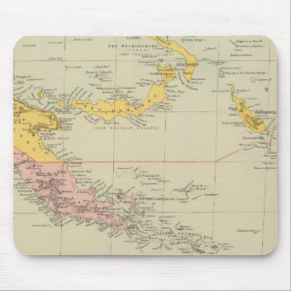 New Guinea and Solomon Islands Mouse Pad