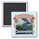 New Guinea Cassowary Magnets